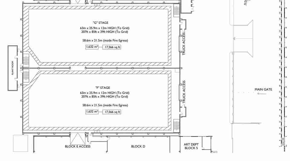 Stone Street Studios_Stage F and G detailed floor plan